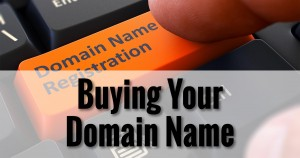 Buying Your Domain Name