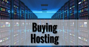 Buying Hosting