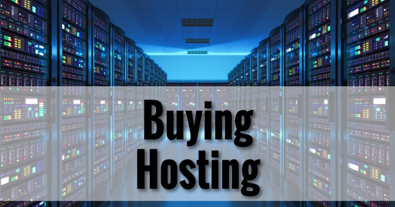 Buying Hosting