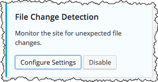 File Change Detection
