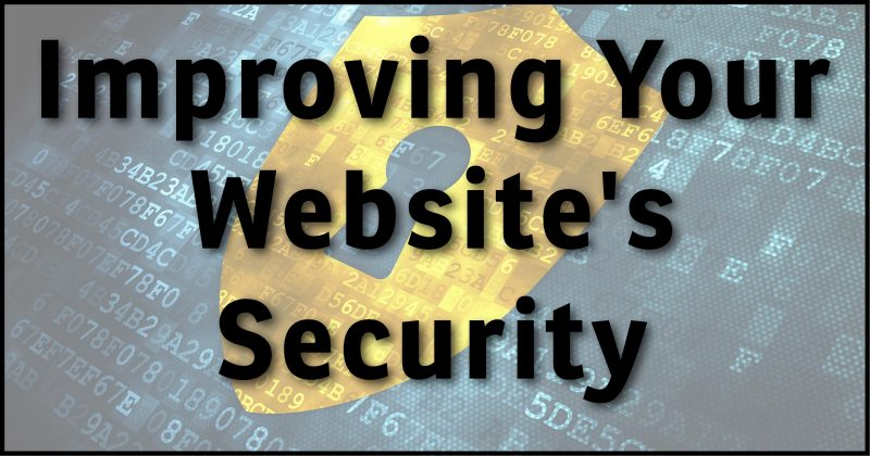Improving Your Website's Security