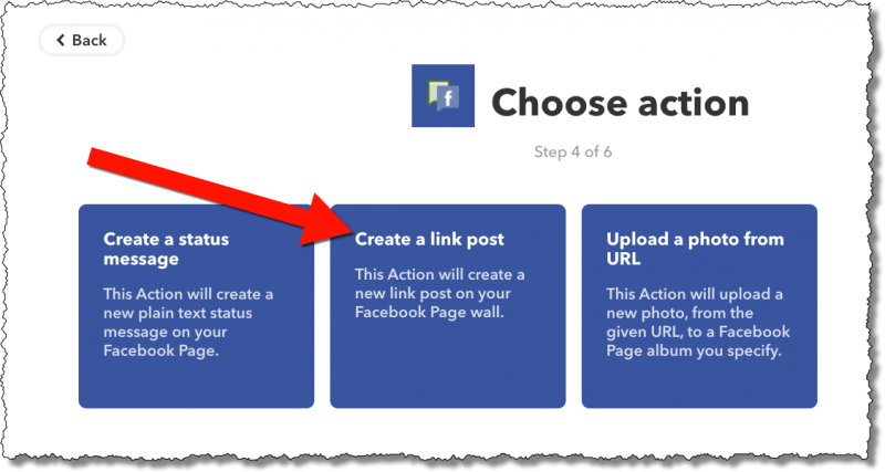 IFTTT: Choose Action